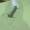 Palešu plauktu distance starp rāmjiem 150 mm lietota