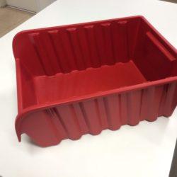 Noliktavu kaste LIEASPROFI6 440 x 315 x 180 mm, sarkana