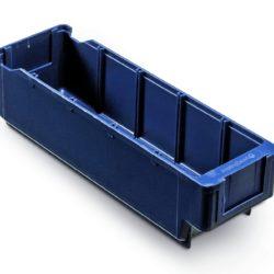 Plastmasas kaste 300 x 94 x H82 mm, 2,0 L, zila, 4533