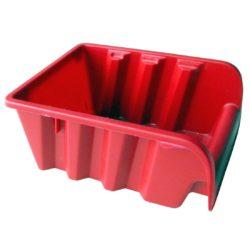 Stenda kaste ASPROFI2 160x115x75 mm sarkana