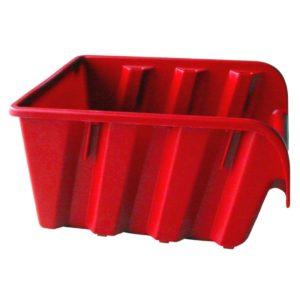 Stenda kaste ASPROFI4 235x173x125mm sarkana