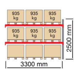 Palesu plaukti FIN paletem papildsekcija FIN3300