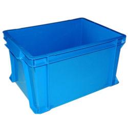 plastmasas kastes ar vāku-400-x-300-x-230-mm-zila
