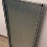 Plaukts 595x1245 mm, Zn, liet. cinkota plauktu platne m3