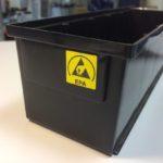 Plastmasas kastes ar ESD aizsardzību