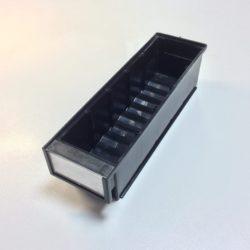 Plauktu kaste ESD 300 x 92 x 82 mm lietota