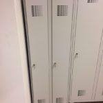 riidekapp metallist 2x300mm hall