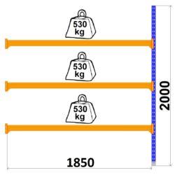 universali-metala-plaukti-LongSpan-1850-x-2000-x-600-mm-3-plaukti-paildsekcija