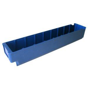 4537 - Plastmasas kaste 500 x 94 x 80 mm 3 L zila