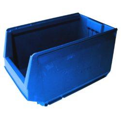9063 - Plastmasas kaste 350 x 206 x 200 mm, 11,0 L, zila