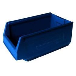 9073-Plastmasas kaste 350 x 206 x 150 mm, 8,8 L, zila