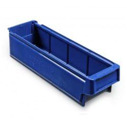 9111 - Plastmasas kaste 400 x 115 x 100 mm 3,4 L zila