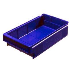 9113 - Plastmasas kaste 400 x 230 x 100 mm 7,1 L zila