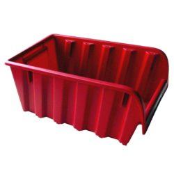 Stenda kaste ASPROFI5, 340 x 200 x 150 mm, sarkana