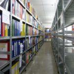 metala industrialie plaukti arhiviem un citam telpam