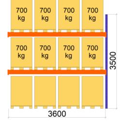 palesu-plaukti-premium-3600-mm-x-3500-papildsekcija-L0100