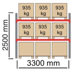 Palesu-plaukti-City-pamatsekcija-3300x2500mm-pamatsekcija