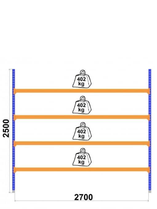 Universalais-plaukts-Longspan-800-x-2700-x-H2500