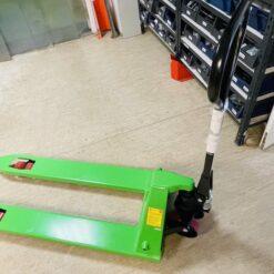 Palešu ratiņi ar poliuretāna riteņiem zaļi - ACBz